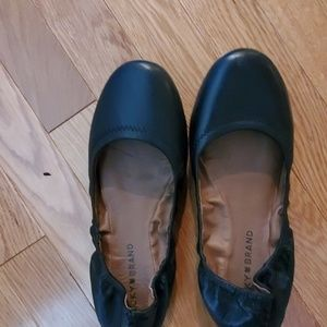 Size 7 Lucky Brand leather ballet style shoes